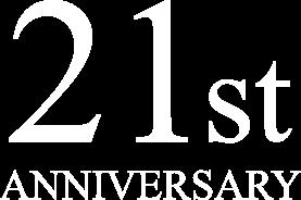 21st Badge white